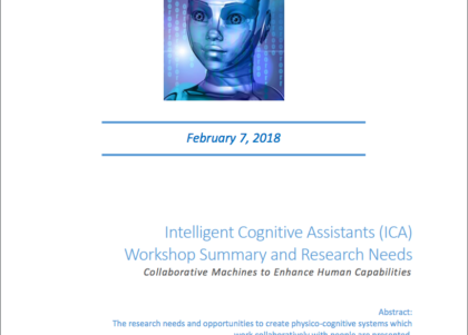 ICA Program flier