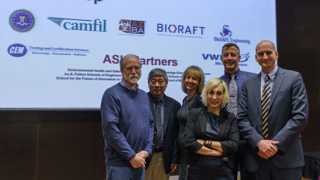 Speakers from the 2017 Biosecurity Workshop