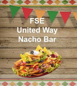 United Way Nacho Bar