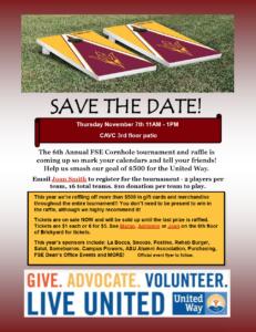 6th Annual Fulton Schools Cornhole Tournament and Raffle