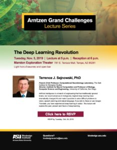 Arntzen Grand Challenges Lecture Series flyer