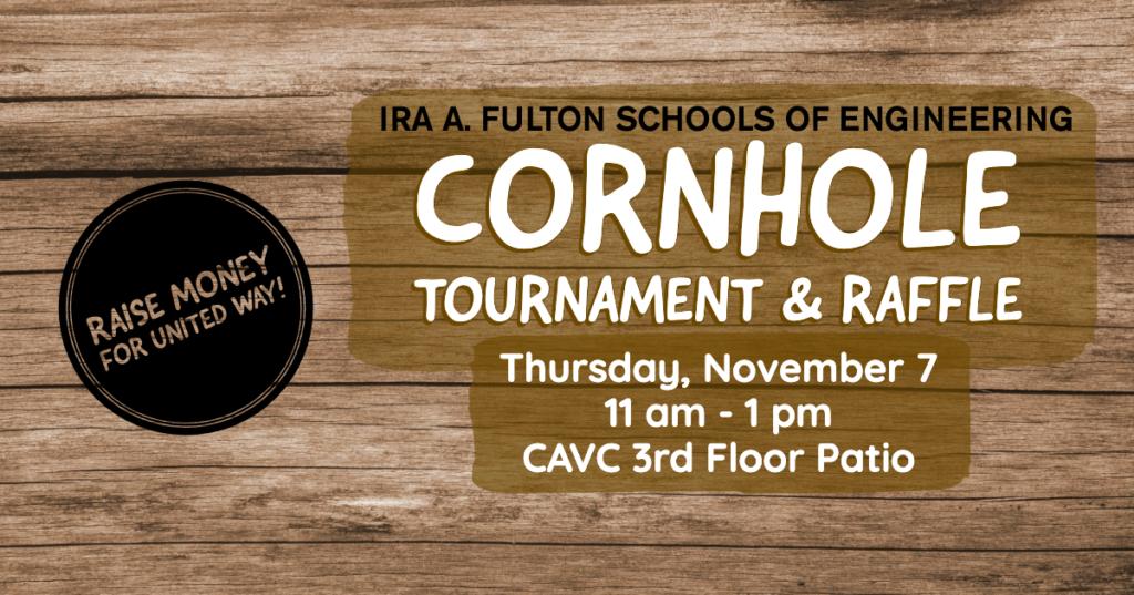 Cornhole Tournament and Raffle
