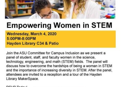 CCI: Empowering women in STEM