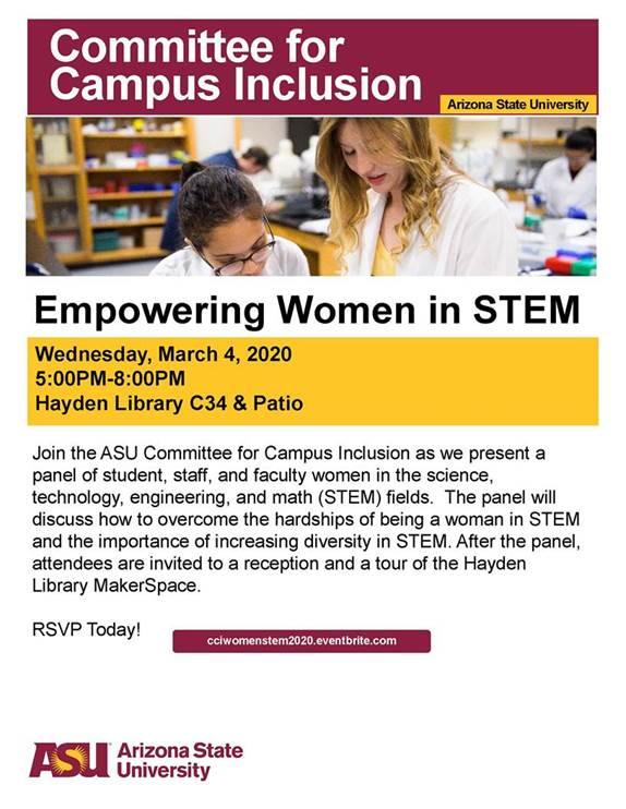 CCI: Empowering women in STEM