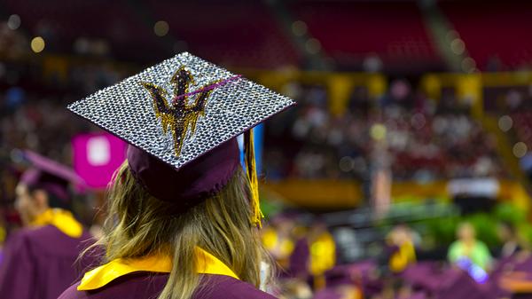 A graduating Fulton Schools student.