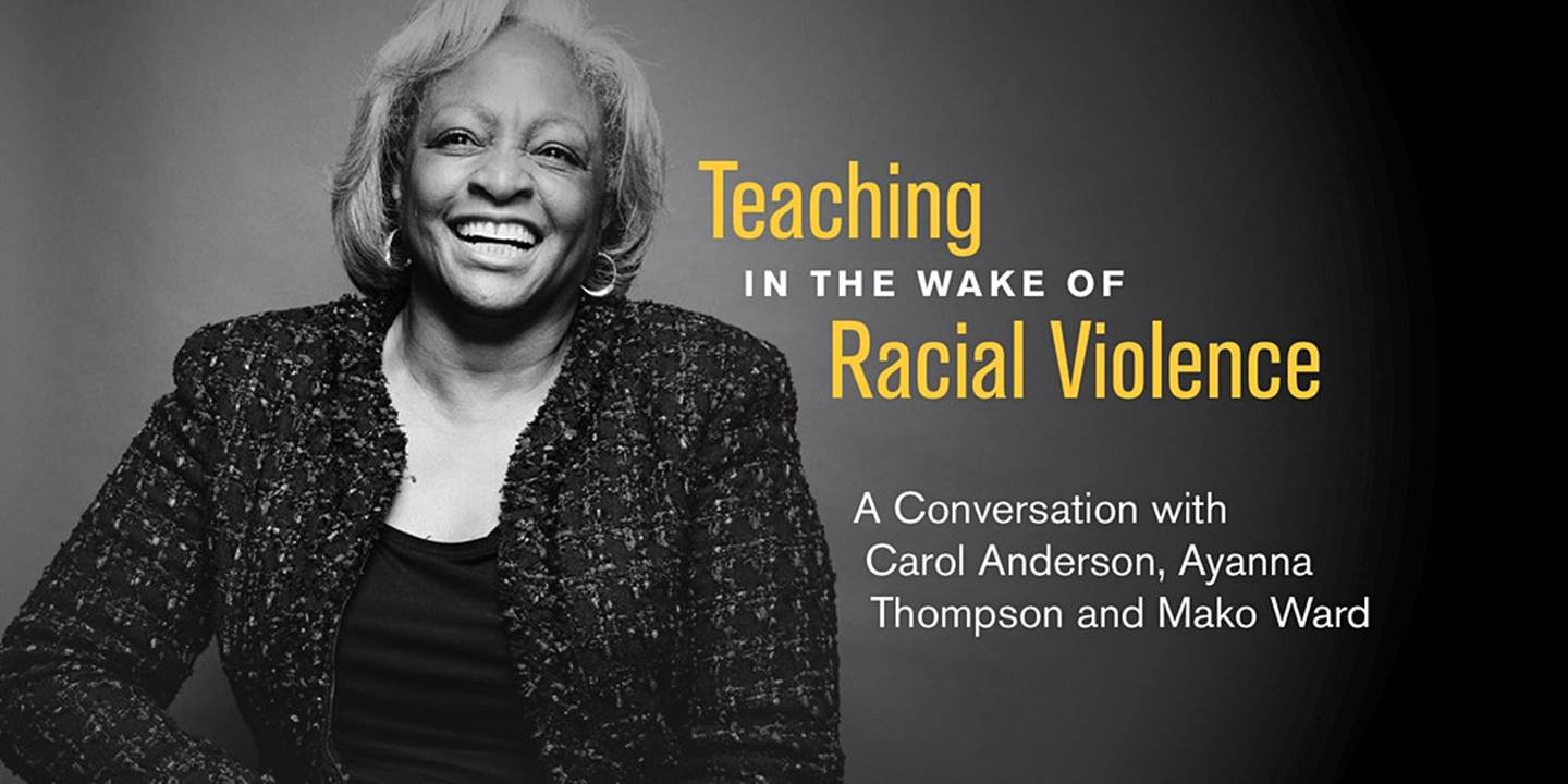 Teaching in the wake of racial violence, August 12, 2020