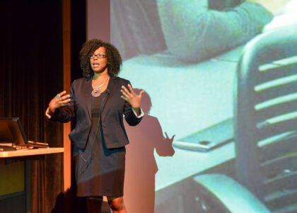 "Kimberly Scott, executive director of Center for Gender Equity in Science and Technology Arizona State University's Center for Gender Equity in Science and Technology is hosting the Women of Color STEM Entrepreneurship Conference titled ""Wahine: Culturally Responsive Collective Catalyst."" The conference is focused on bridging research and practice to build understanding, identify pathways and guide changes that broaden participation and inclusion of women and underrepresented populations in STEM fields. Women of Color STEM Entrepreneurship Conference Tuesday, March 23, 2021–Thursday, March 25, 2021 Register to attend — $75 per day, $175 for all three days, scholarships and discounts available Conference attendees will hear about challenges and solutions from multiple perspectives: leading researchers, practitioners in the field, funders catalyzing change, innovative educators, industry leaders and more. Attendees can also participate in one of the many interactive sessions designed for attendees to connect, apply knowledge and explore collaborative opportunities with each other, speakers and facilitators. The conference is a hub for individuals working across the system to transform STEM for an inclusive future. A future where girls and women of color leading as techno-social change agents aren't the exceptions; they are the expectation. Read more about the panels, presentations and interactive sessions. For the 2021 virtual conference, the Center for Gender Equity in Science and Technology is bringing its success from the past three conferences through powerful partnerships with Hawaii Pacific University, the Kapor Center, Women of Color in Computing Collaborative, Entrepreneurship and Innovation at ASU and the National Science Foundation."