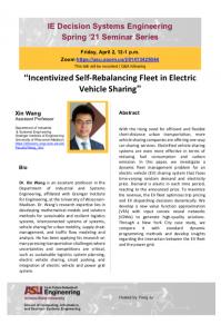 Xin Wang seminar