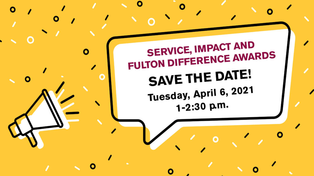 2021 Service, IMPACT and Fulton Difference Awards event