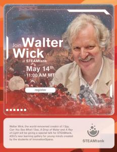Walter Wick at STEAMtank