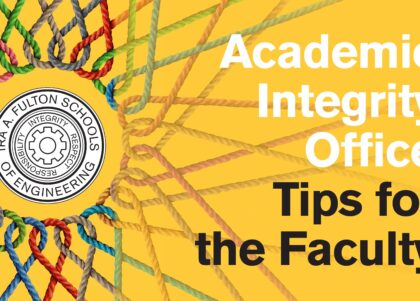 Academic Integrity Office Tips for the Faculty