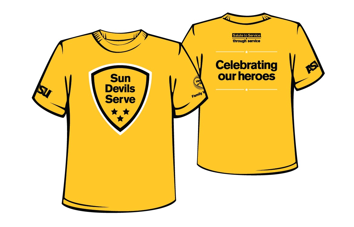 Salute to Service T-shirts